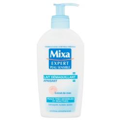 Lait démaquillant Expert Peau Sensible apaisant MIXA