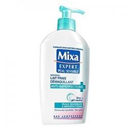 Mixa - Expert - Lait frais démaquillant, anti-imperfections, peaux sensibles à imperfections