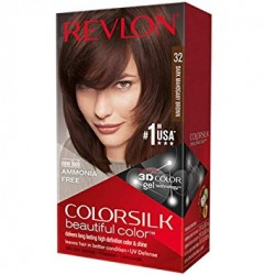 Revlon ColorSilk Hair Color, [32] Dark Mahogany Brown