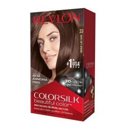 Revlon ColorSilk Beautiful Color, 33 Dark Soft Brown