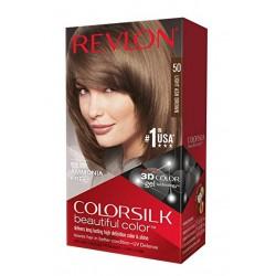REVLON Colorsilk Coloration des Cheveux N°50 Light Ash Brown