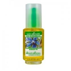NaturEsoin Huile de Bourrache naturelle flacon en verre 50 ml