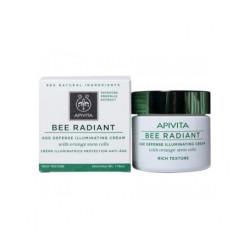 Apivita Bee Radiant crème anti-âge à texture riche 50ml