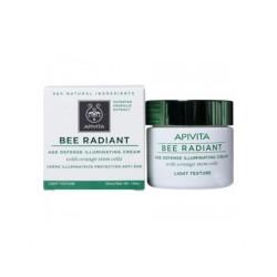 Apivita Bee Radiant crème légère anti-âge crème anti-âge texture légère 50ml