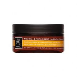 Apivita - Masque capillaire nourrissant et réparateur à l'olive et au miel