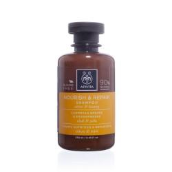 Apivita Nourish & Repair Shampoo   250 ml