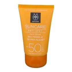 Apivita Sun Crème Visage Anti-Spot SPF50