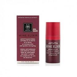 Apivita Vin Elixir Wrinkle Lift Crème yeux et lèvres 15 ml