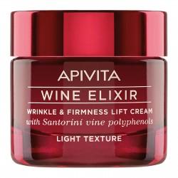 Crème Lift Rides & Fermeté Wine Elixir APIVITA 50 ml – Crème Légère