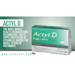 Actyl D complément alimentaire