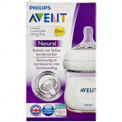 AVENT BIBERON NATURAL PP 125ML 0m+