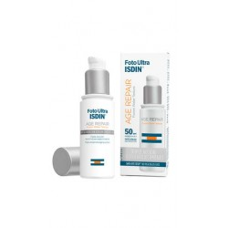 ISDIN Foto Ultra AGE REPAIR 50, crème solaire, action anti-âge renforcée