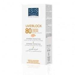 Isis Pharma Uveblock 80+ Crème Teinté Très Haute Protection
