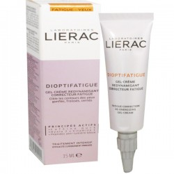 LIERAC DIOPTIFATIGUE GEL CREME REDYNAMISANT 15 ML