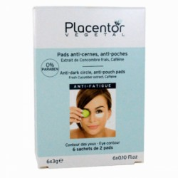 PLACENTOR VEGETAL Pads Yeux anti-cernes anti-poches x12