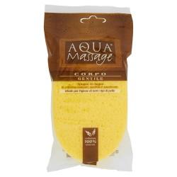 Aqua massage Éponge de bain douce en pure cellulose 100% naturelle