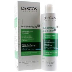 VICHY Dercos anti-pelliculaire shampooing traitant cheveux gras Vichy - tube de 200 ml