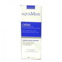 Aquamine dermacia crème ultra hydratante peaux sensibles sans parfum (40 ml)