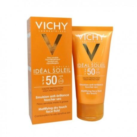 VICHY IDEAL SOLEIL CREME TOUCHER SEC IP50+