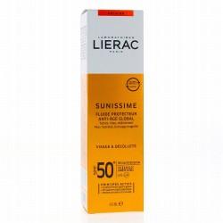 LIERAC Sunissime Fluide Protecteur Énergisant Anti-âge Global SPF 50 40ml