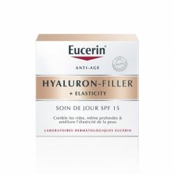 EUCERIN SOIN DE JOUR SPF15 50ML HYALURON-FILLER + ELASTICITY
