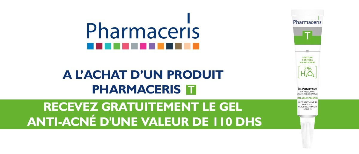 PHARMACERIS PCERIS T GEL ACNE-POINTGEL